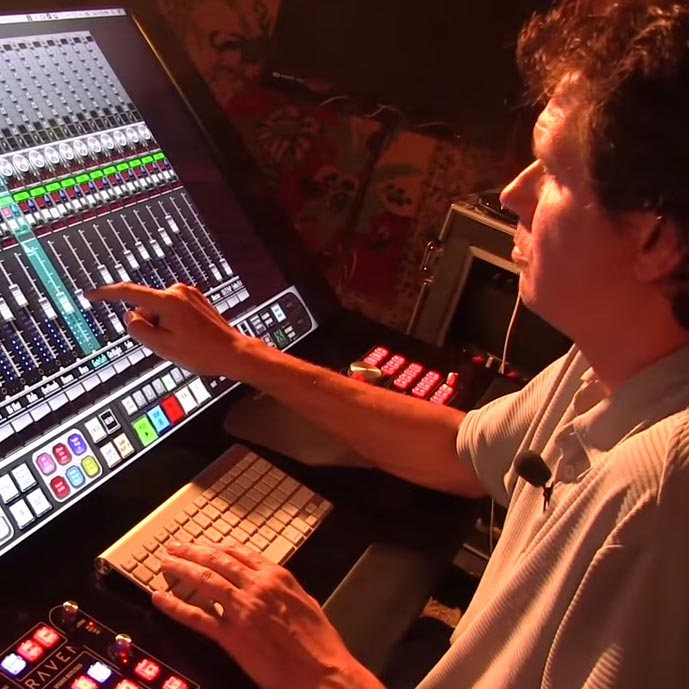 The RAVEN Multi-touch Production Console